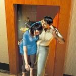 電梯口性侵